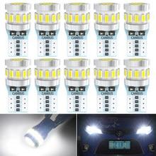 10x t10 w5w led canbus livre de erros luz de estacionamento interior do carro para honda civic accord crv caber jazz cidade hrv CR-V acessórios 12v