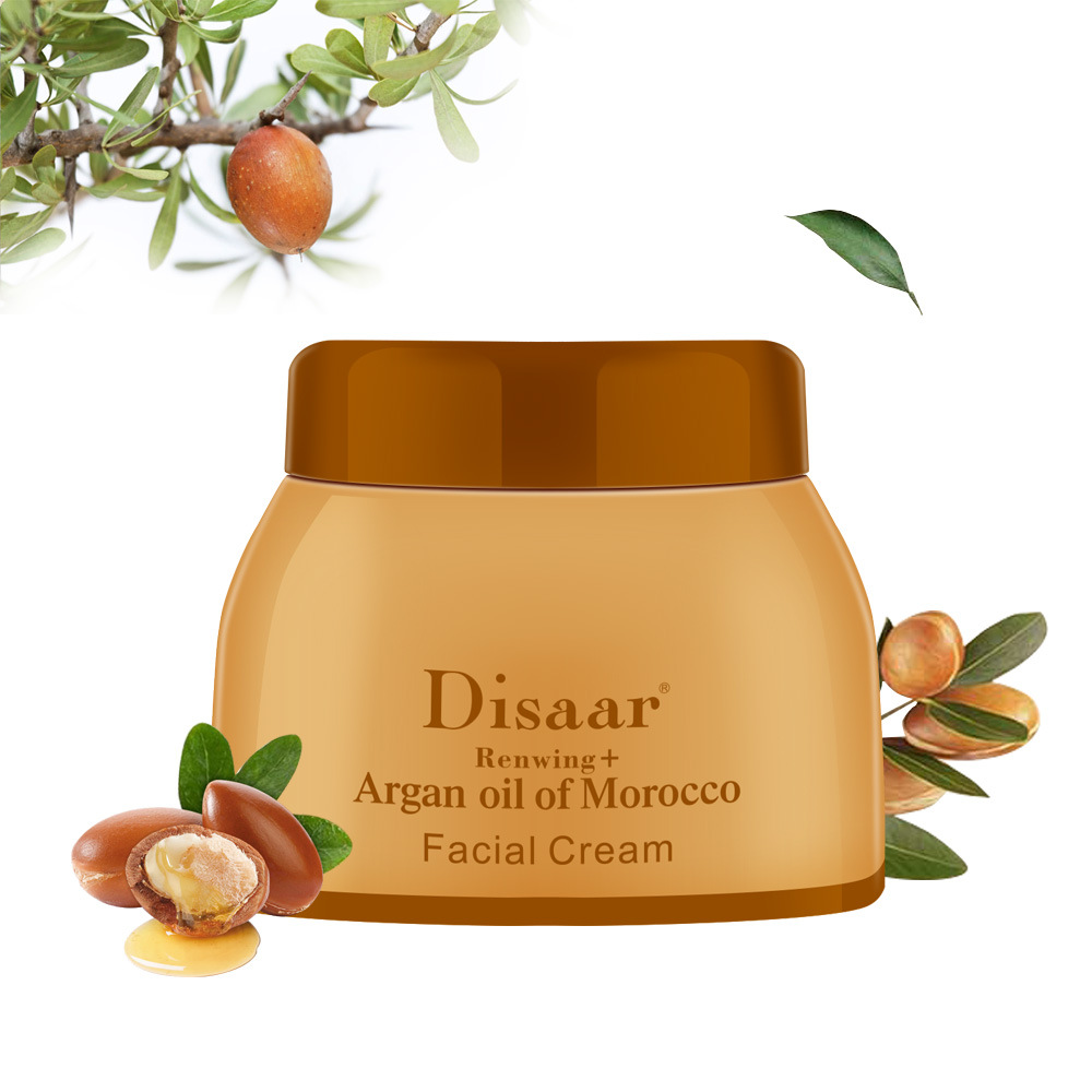 Argan Oil Morocco Cream Repair Lighten Blemish Face Cream Serum Skin Care Anti-aging Face Lifting Firming Smooth Cream 50g 2