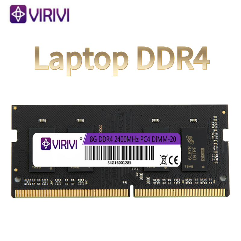 VIRIVI Ram DDR4 8GB 4GB 16GB 2400mhz 2133 2666mhz sodimm notebook high performance laptop memory image
