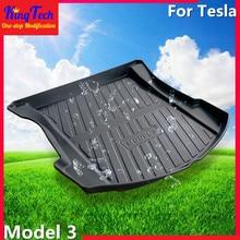 Car Trunk Floor Mat For Tesla Model 3 Custom Fit Before Carg