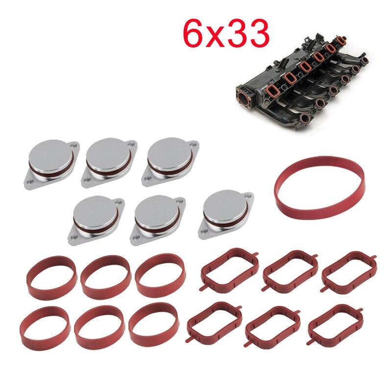 Inlet Intake Manifold Gasket BMW:E46,E36,E39,E60,E83,E85,E53,E38,E65 E66 E67
