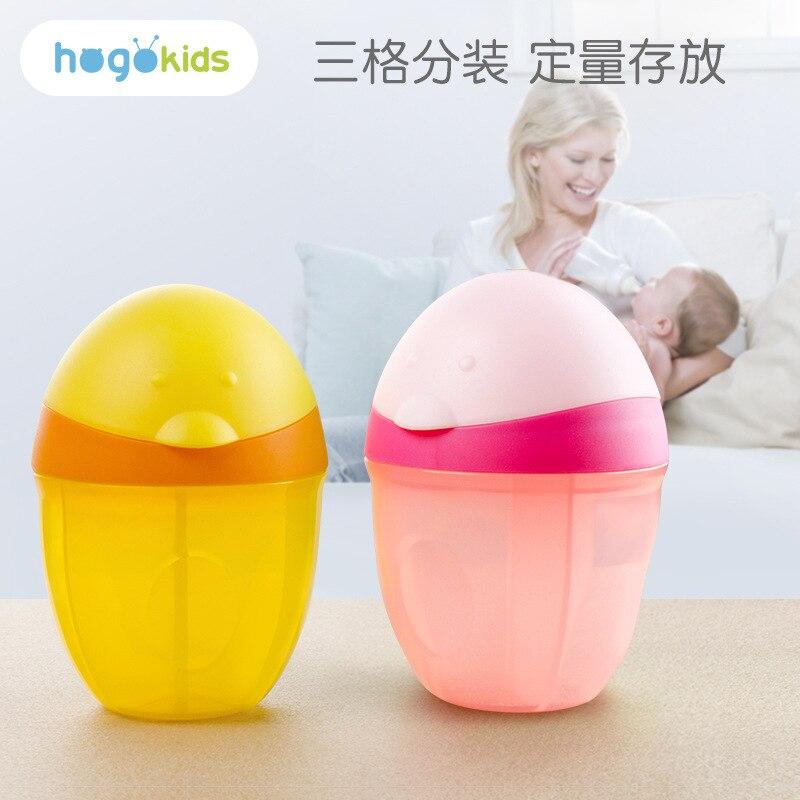 Hogokids Baby Infant Packing Milk Box Seperated Storage Large Capacity Storage Portable Nursing Small Sealed Jar