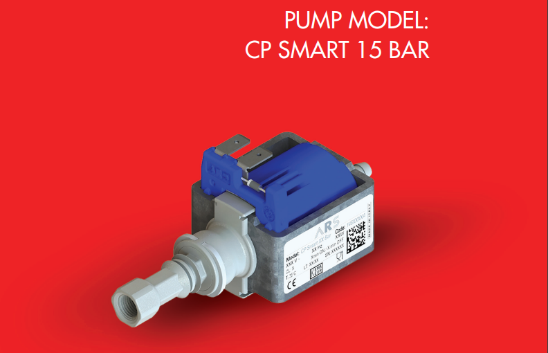 New ARS Italian Electromagnetic Pump CP Smart 9 Bar 220V