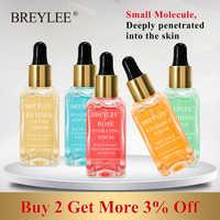 BREYLEE Serum Serie Hyaluronsäure Vitamin C Bleaching Gesicht Hautpflege Rose Nähren 24k Gold Firma Beruhigende Reparatur Essenz 1 stücke