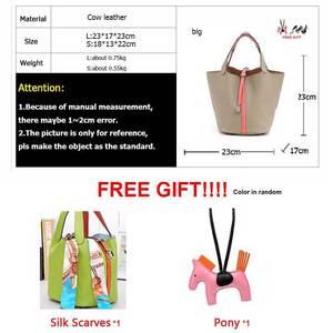 Image 4 - Сумка мешок из воловьей кожи для женщин, сумочка тоут из натуральной воловьей кожи на шнурке, композитные сумки