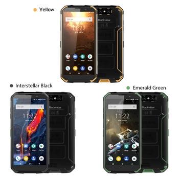 Blackview BV9500 Plus Smartphone Helio P70 Octa Core Android 9.0 Mobile phone 10000mAh IP68 Waterproof  5.7inch FHD 4GB + 64GB blackview bv8000 pro ip68 waterproof cellphone mtk6757v octa core android 7 0 mobile phone 5 0 fhd 6gb ram 64gb rom 4000mah nfc