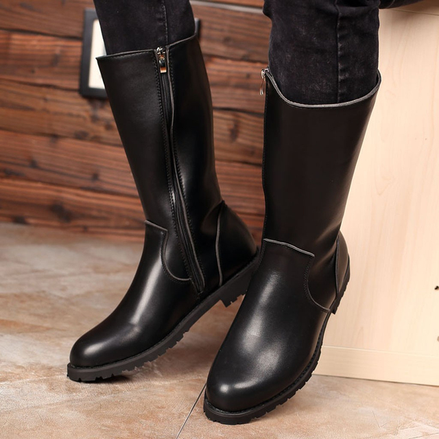 Classy Genuine Leather Boots 4