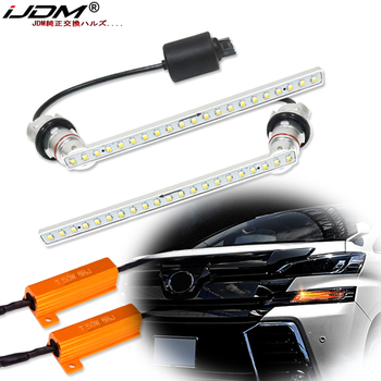 iJDM Sequential flashing flowing blinker For Alphard valve Vellfire 30 series previous term Noah Esquire Turn Signal Lights/DRL