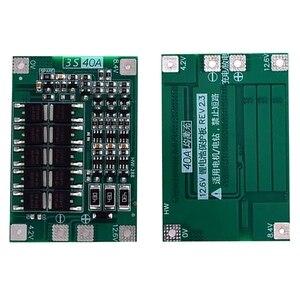 Image 5 - 3S 40A Bms 11.1V 12.6V 18650 płyta zabezpieczająca baterię litową ze zrównoważoną wersją do wiercenia 40A prądu