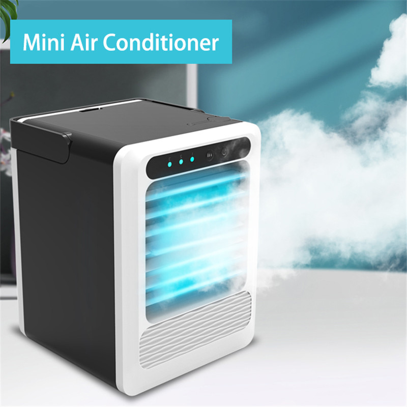 Portable Air Conditioner Mini USB Air Cooler Fan Cooling Humidifier Office Home Room Air Conditioning Quick & Easy Way To Cool
