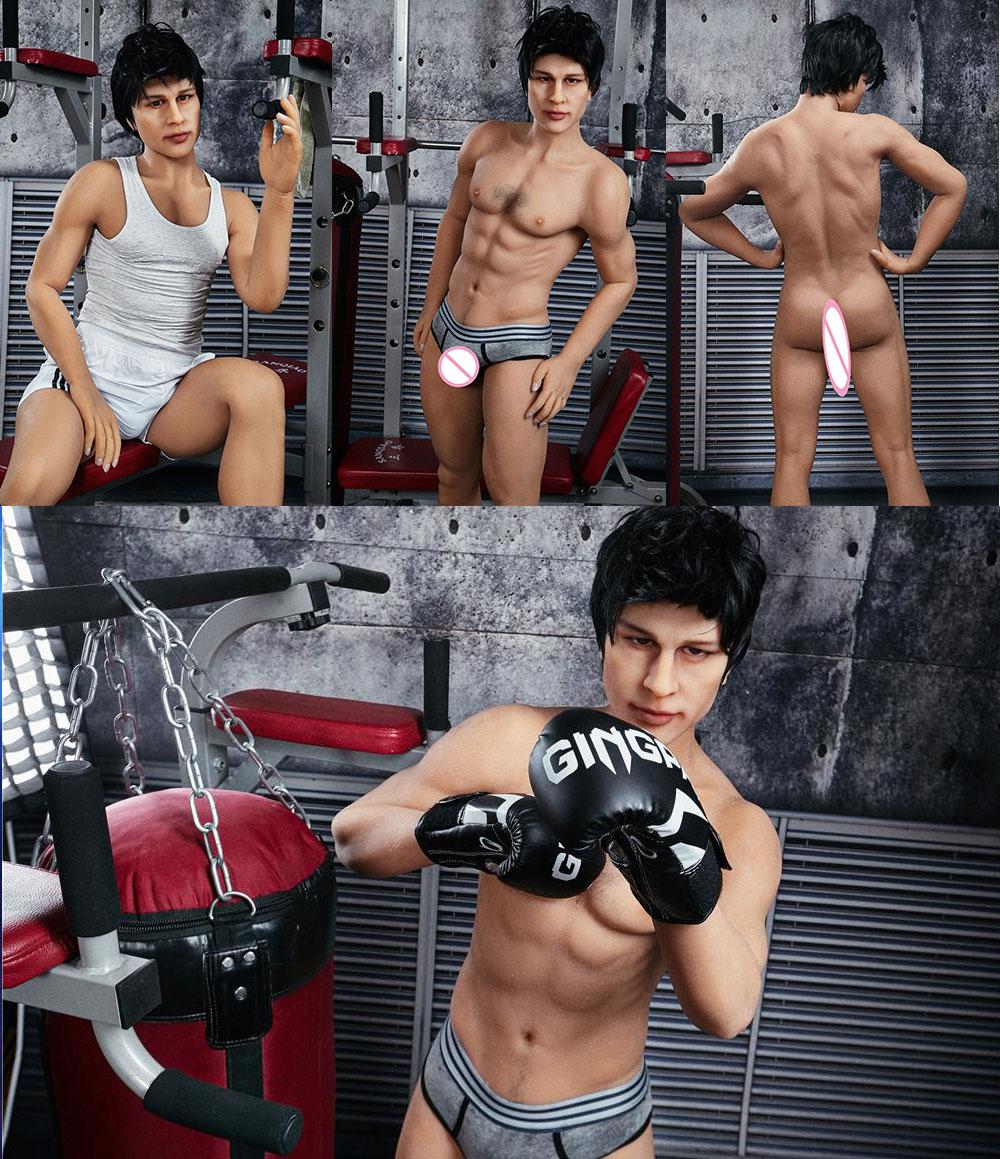 H2158a91e729f47caaa58600221efe8bef Muñeca sexual de silicona para hombre Gay, juguete de 165cm, alta calidad, para mujeres adultas, pene grande, 18cm, nuevo