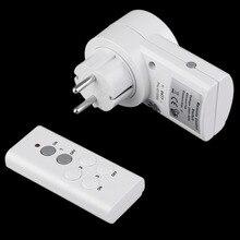 Беспроводной пульт дистанционного управления домашний дом розетка для управления светом 1 дистанционный разъем ЕС DC 12 В горячая Распродажа дропшиппинг
