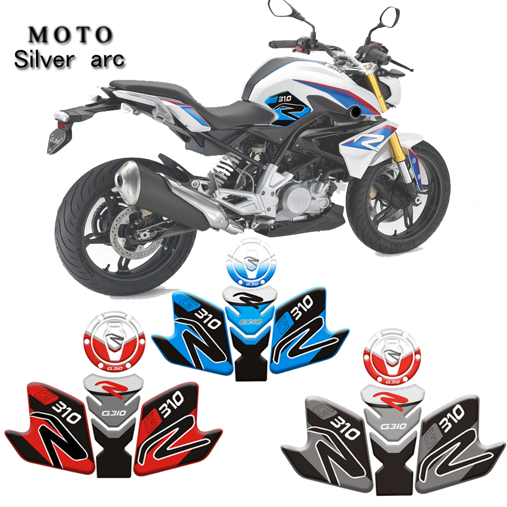 3D Print Motorcycle Accessories Gas Tank Sticker Gas Sticker Motorcycle Sticker Emblem Protector For BMW G310R G310 R G310 R