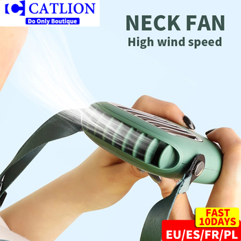 mini usb neck fan 5V cooler rechargeable ventilador Outdoor Travel handheld portable silent small Electric PC cooling fans home