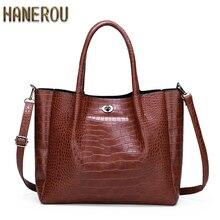 купить Luxury Handbags Women Bags Designer Crocodile Pattern Ladies Crossbody Bags For Women Pu Big Capacity Female Shoulder Totes Bag по цене 1497.37 рублей