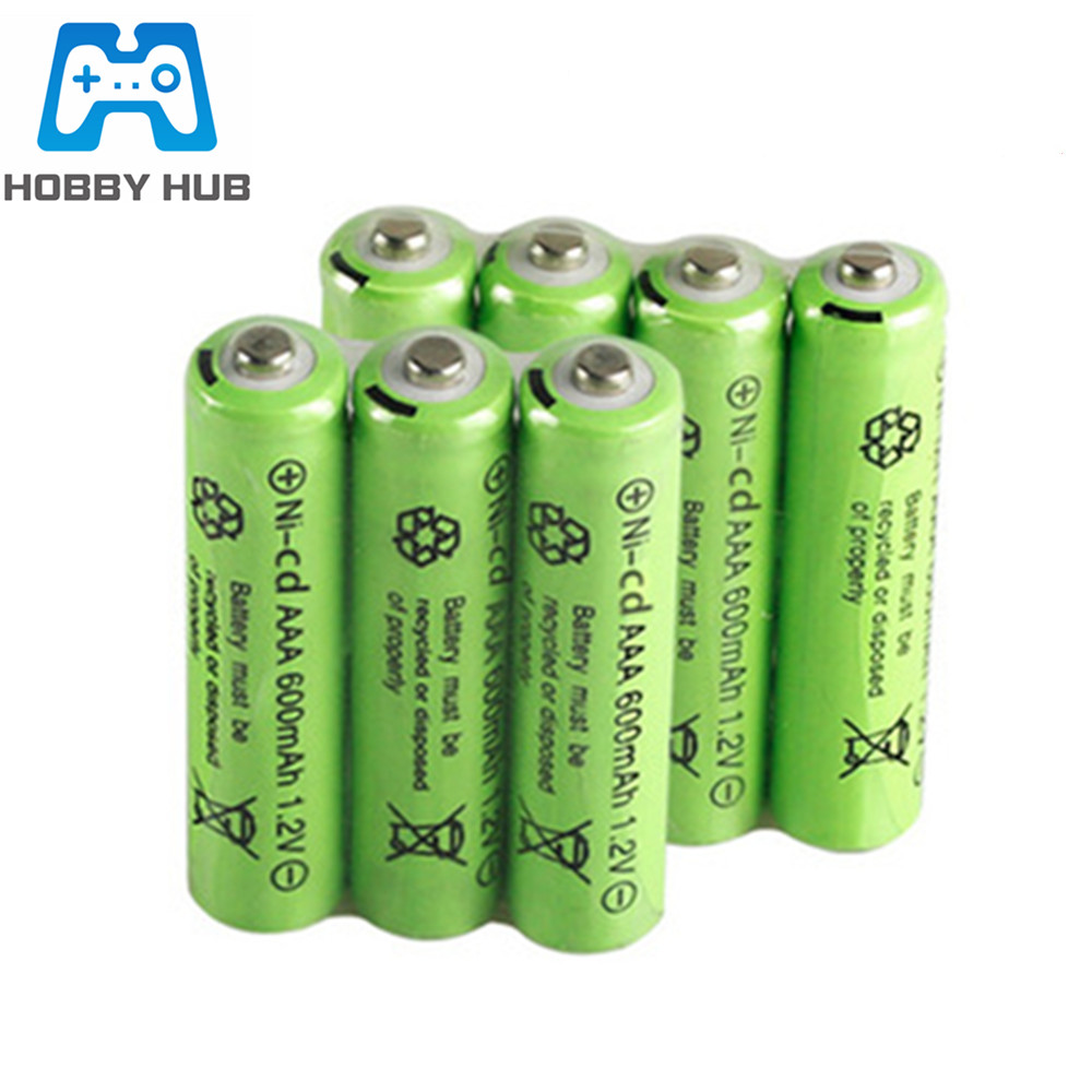 1.2v 600mah NI-CD AAA Battery 600 MAh Rechargeable Nicd Battery For Electric Toy Remote Control Car RC Ues