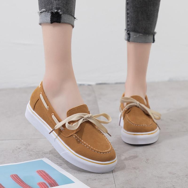 AARDIMI Large Size Casual Sneaker 2020 Luxury Brand Platform Shoes Women In Women's Flats Canvas Shoes Rubbers Zapatos De Mujer