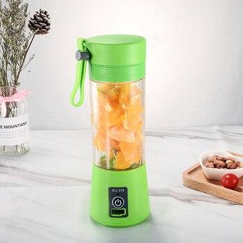 Portable Mixer USB Electric Fruit Juicer Handheld Smoothie Maker Blender Stirring Rechargeable Mini Food Processor Juice Cup 10