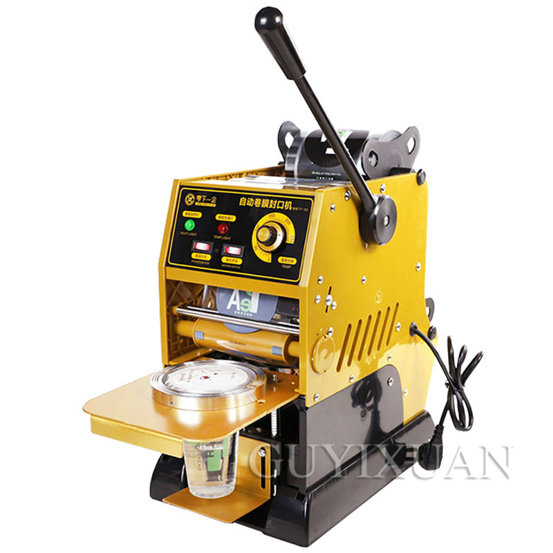 Household Manual Paper Cup Plastic Cup Sealing Machine Commercial Milk Tea Equipment Beverage Sealing Cup Machine