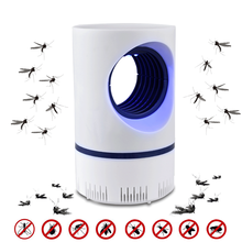 UV Mosquito Killer Lamp USB Electric Insect Killer Night Light Mosquito Trap Lantern Anti Mosquito Bug Zapper Repellent Lamps