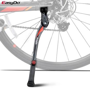 Easydo regulowany tylny uchwyt rowerowy stop rowerowy stop materiał na 24 #8221 -29 #8221 stopka rowerowa pasuje do łańcucha pobyt z 2 otworami tanie i dobre opinie CN (pochodzenie) Stojaki na rowery Z aluminium 24-29