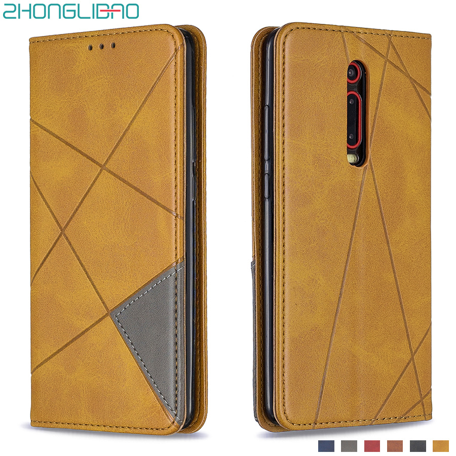 Magnetic Leather Flip Case for <font><b>Xiaomi</b></font> Mi <font><b>Note</b></font> 10 9 9s Cc9 Pro 9t Xiomi <font><b>Redmi</b></font> <font><b>8</b></font> 8a 7 7a K20 <font><b>Note</b></font> <font><b>8</b></font> T Pro Card Holder Wallet Cover image