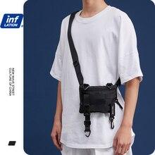 Waist-Bag Fanny-Pack Streetwear Fashion Cotton INFLATION Hip-Hop   Men's