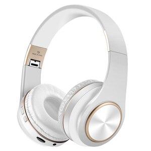 Image 2 - Scrub Wireless Headphone Portable Bluetooth 5.0 Earphone Foldable Handsfree Headset For Ear Head Phone iPhone Xiaomi Huawei