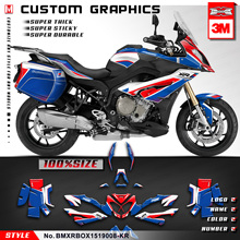 Stickers Kungfu-Graphics-Kit S1000XR for Side-Case Style-No.-Bmxrbox1519008-Kr Full-Wraps