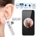2019 neue 3,9 MM 5.0MP WiFi Ohr Endoskop Ohrenschmalz Reinigung Tool Ohr Spoonwith 6 Led-leuchten Endoskop für Android, iOS, Smartphone