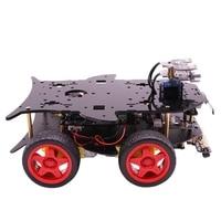 Подходит для Arduino Uno Smart Car Robot Kit Diy графическое Программирование Us Plug