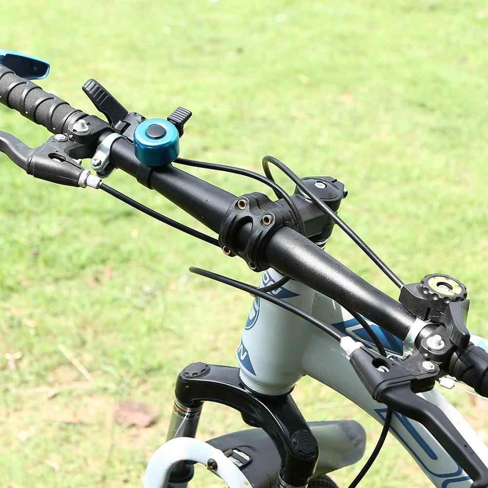 Sepeda Bells Riding Aksesoris Peralatan Invisible Mini Aluminium Alloy MTB Gunung Bell Stang Cincin Horn Suara Alarm