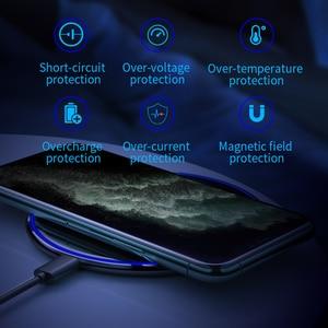 Image 5 - Essager 15ワットチーワイヤレス充電器12 11プロxs最大ミニx xr 8誘導高速ワイヤレス充電パッドサムスンxiaomi