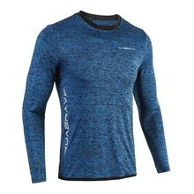 Gym-Shirt Quick-Dry Sports-Tops Fit-Compression Fitness Long-Sleeve Rushgard Men Elastic