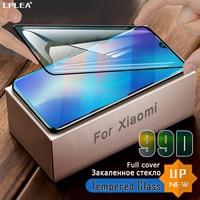 Proteggi schermo a copertura totale per Xiaomi Mi 10T 9 8 Lite vetro temperato Mi 9T A1 A3 Redmi Note 10 Pro Max 9S K30 K20 poco f2 Pro