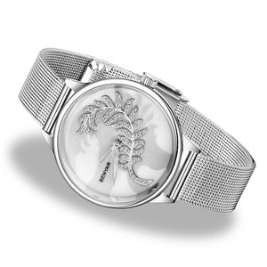 Image 2 - BENYAR למעלה מותג היוקרה לצפות ילדה שעון 2019 חדש רישום פשוט נשים שעונים קוורץ שעון גבירותיי Relogio Feminino + תיבה
