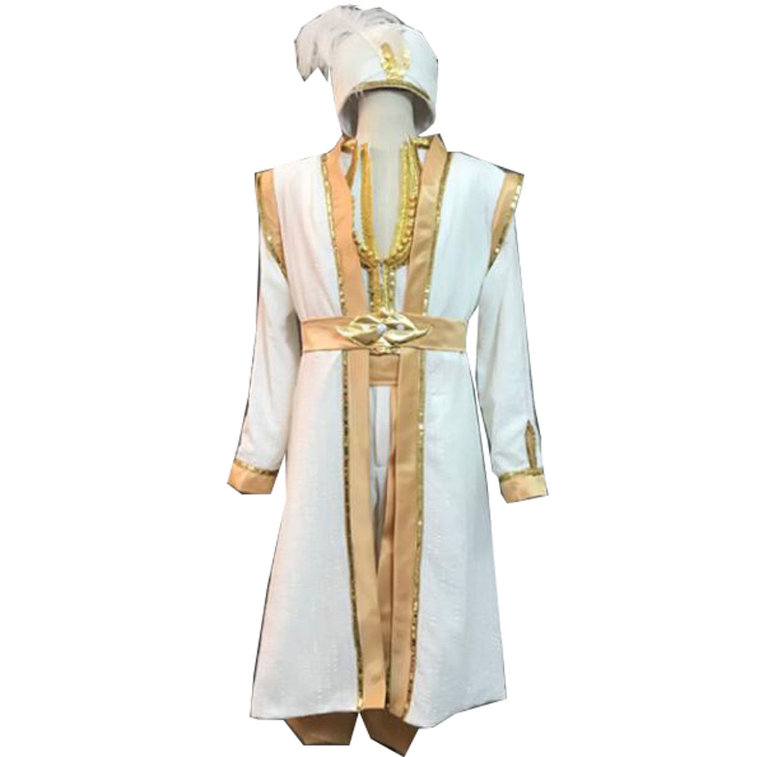 2019 Movie Aladdin Cosplay Costume Halloween Prince Costumes for Adult Jasmine and the Magic Lamp Aladdin Outfit With Hat
