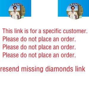 Diamond painting Cross Stitch Diamond Embroidery resend missing diamonds link
