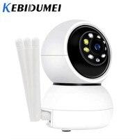 Kebidumei Baby Monitor IP Camera Auto Tracking WiFi Home Security IP Camera Night Vision Wireless Surveillance CCTV 1080P