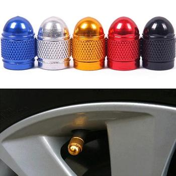 4 Pcs/lot Car Accessories Dust-proof Wheel Tires Valve Caps Motorcycle Cone Shaped for BMW luminum Tyre Air Port Cover image