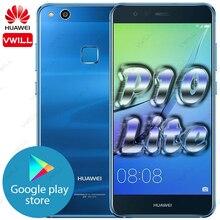 Rom global huawei p10 lite huawei nova lite mobilephone 5.2 kirkirkirin 658 octa núcleo 4gb 64gb impressão digital desbloquear fastcharge gpu