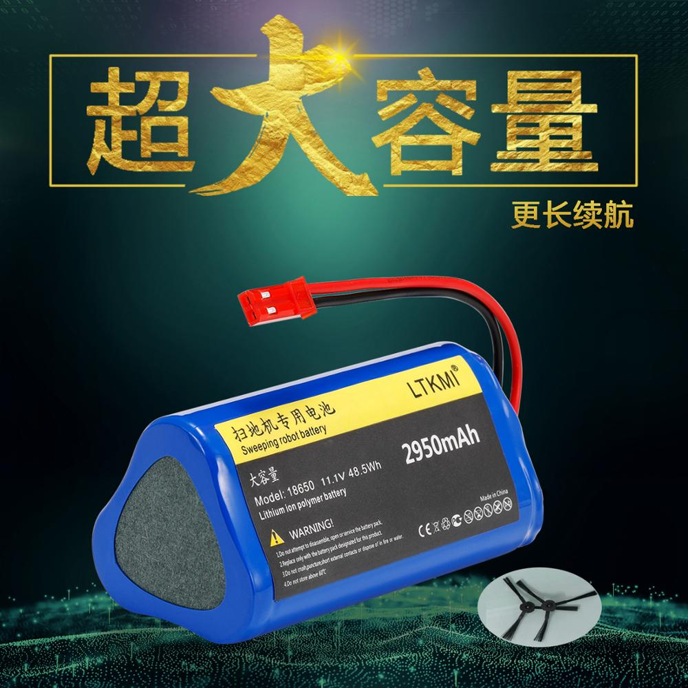 11.1V 2950mah for ecovacs ilife V1 V3 X3 V3 V5 X5 V5S CW310 CEN250 Robot Vacuum Cleaner battery