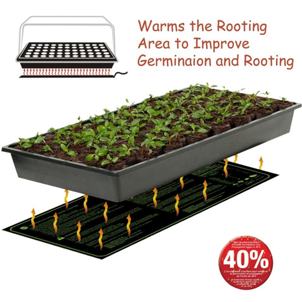 Seedling Heat Mat Waterproof Durable Germination Station Warm Hydroponic Heating Pad For Indoor Home Gardening Seed 30x10in