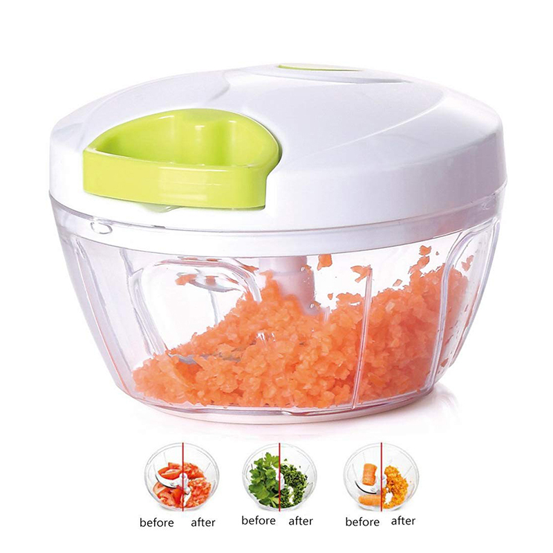 H215cbb3a4c59474fa12285e1273f3a39y Multifunction Hand Pull Food Chopper Vegetable Fruit Slicer Meat Grinder Nuts Onions Chopper Mincer Blender Mixer Kitchen Tools