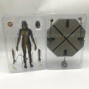 Image 3 - 20cm 원래 neca 물 양서류 남자의 모양 움직일 수있는 액션 피규어 pvc 컬렉션 모델 장난감 선물