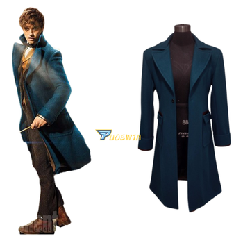 New Fantastic Beasts and Where to Find Them Newt Scamande Cosplay Costume Custom Made fantastic beasts and where to find them macusa