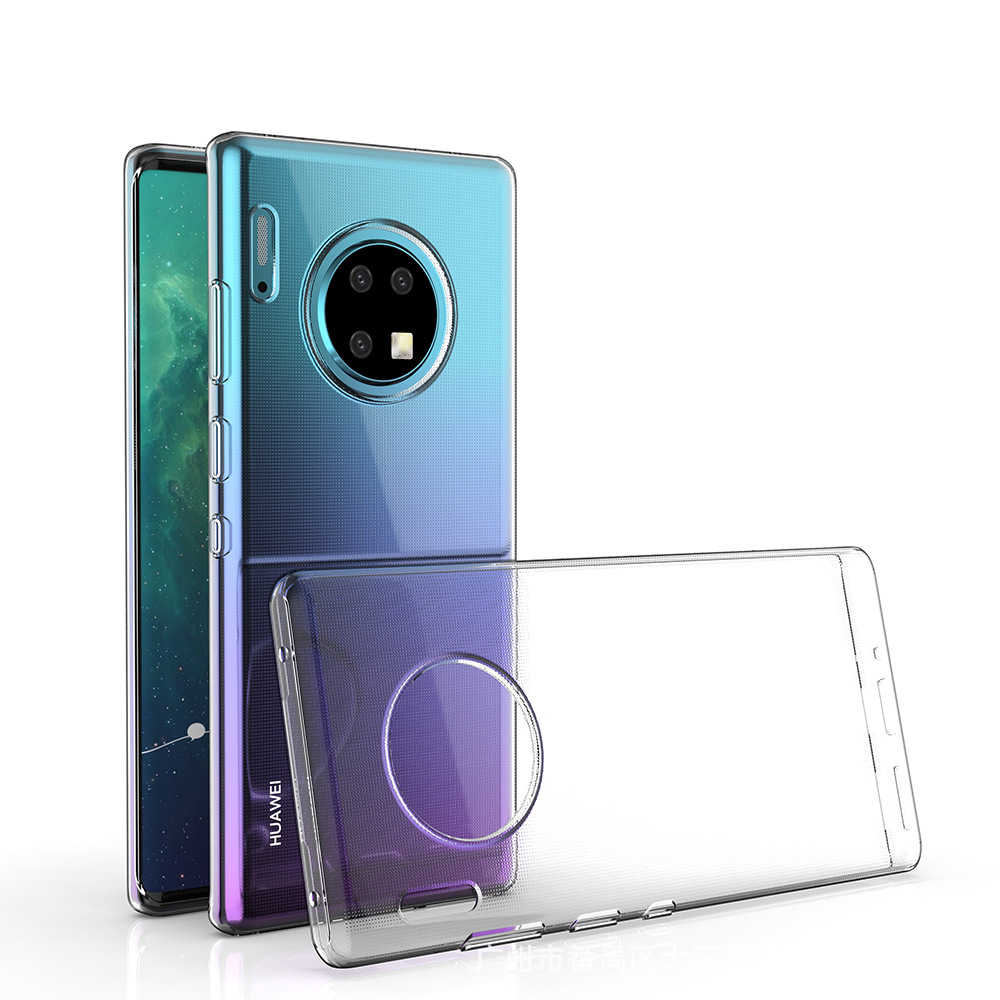 Transparent Case for Huawei P20 P30 Lite Pro Soft Clear Ultra Thin Silicone Case Cover for Huawei Mate 10 20 30 Lite Pro Coque