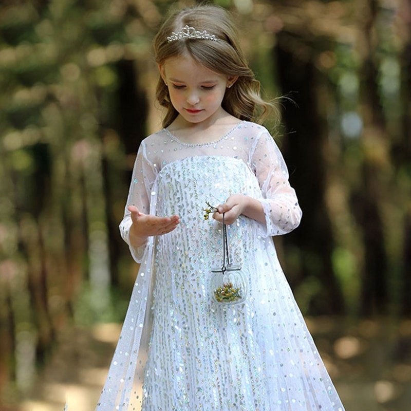 Fancy Girl Dress Cosplay Costume For Kids Dresses Princess Carnival Birthday Party Wear Baby Clothes Teens Chidren Clothing 3