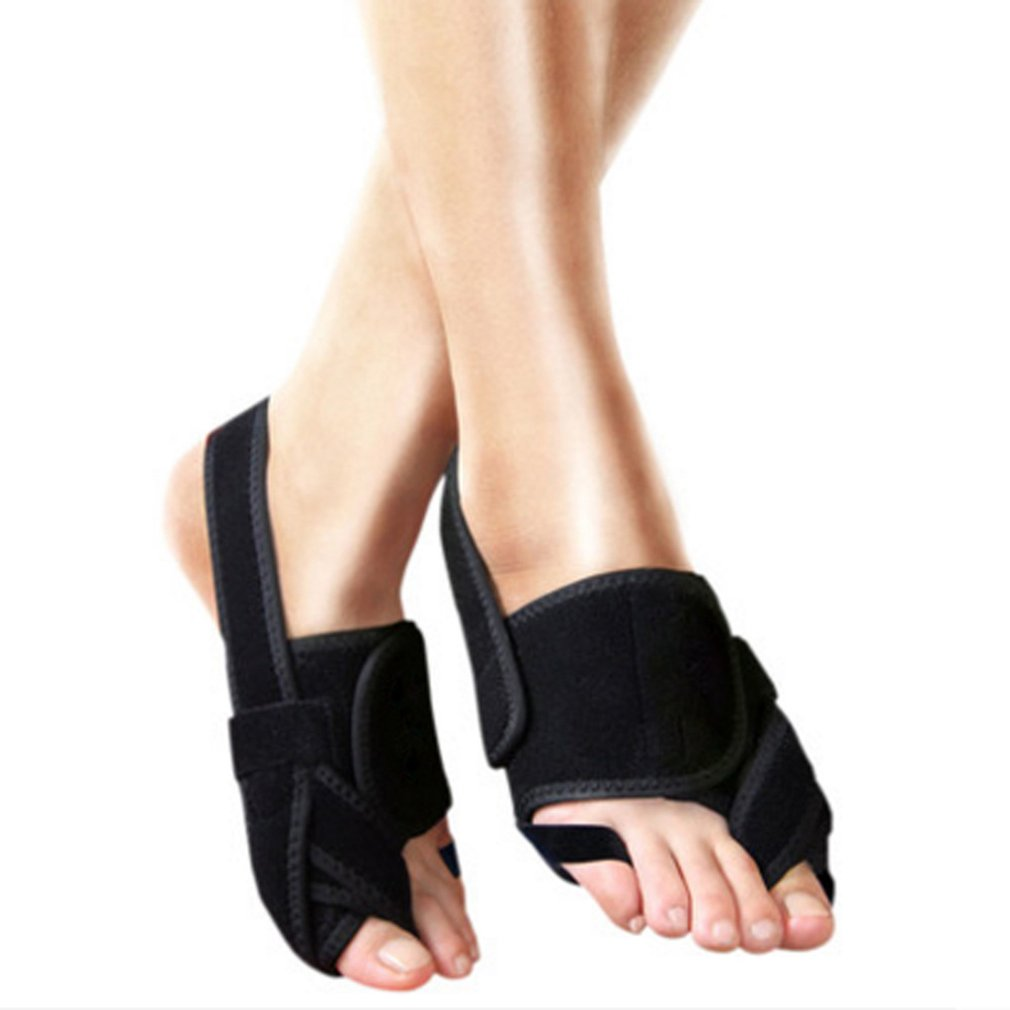 Foot Thumb Toe Posture Corrector Belt Tourmaline Foot Separate Belt Support Toes Orthopedic Brace Hallux Valgus Correction