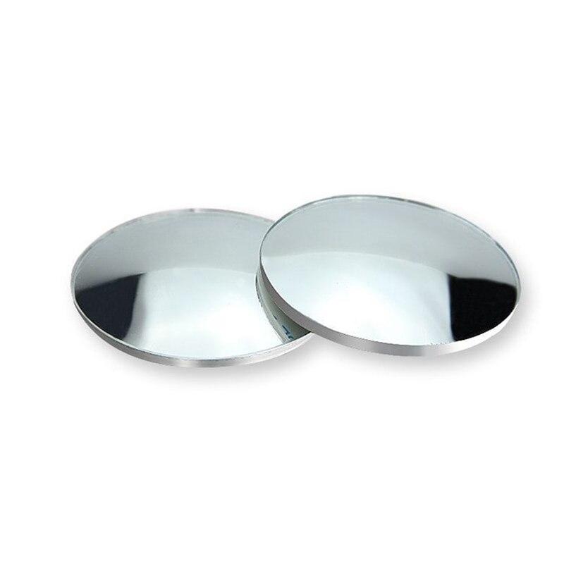 Автомобильное Зеркало для слепых зон, автомобильное 360 широкоугольное круглое выпуклое зеркало, автомобильное боковое зеркало для слепых зон, широкое зеркало заднего вида Зеркала и крышки      АлиЭкспресс